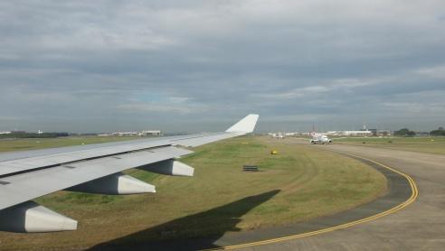 plane from brisbane