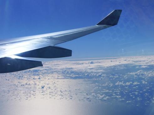 flying to hong kong